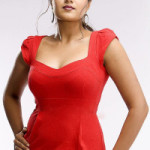 Actress Meghana Raj Hot Cleavage Show Pictures Gallery