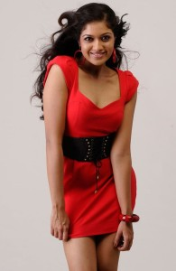 Actress Meghana Raj Hot Cleavage Show Pictures Gallery 6