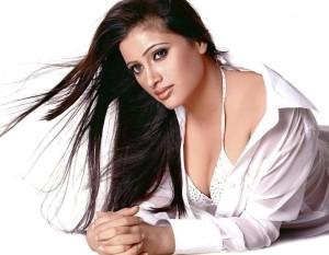 Actress Navneet Kaur Hot Cleavage Show Photos 2