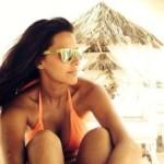 Actress Neha Dhupia Sexy Real Life Photos At Beach