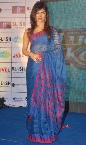 Actress Priyanka Chopra Latest Sexy Saree Pictures Gallery 1