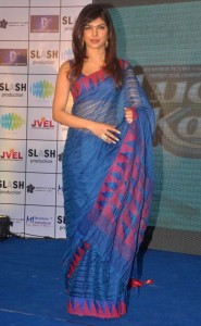 Actress Priyanka Chopra Latest Sexy Saree Pictures Gallery 2