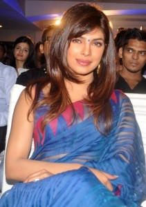 Actress Priyanka Chopra Latest Sexy Saree Pictures Gallery 4