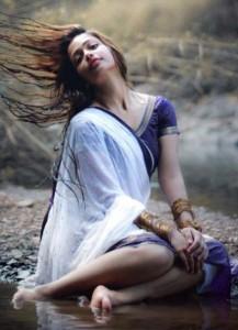 Anaika Soti Hot Photoshoot Photos in Half Saree 2