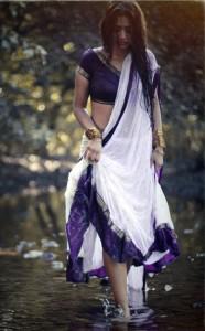 Anaika Soti Hot Photoshoot Photos in Half Saree 4