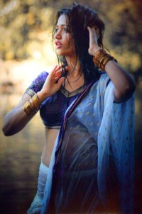 Anaika Soti Hot Photoshoot Photos in Half Saree 5