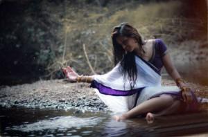 Anaika Soti Hot Photoshoot Photos in Half Saree 6