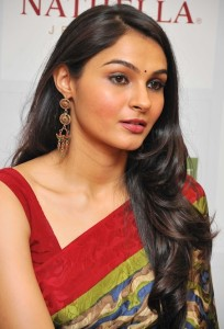 Andrea Jeremiah Latest Photos Gallery in Saree 4