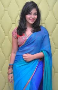 Anjali Hot Stills At Masala Movie Audio Launch