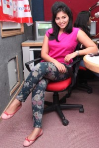 Anjali Sexy Photos At BIG FM 92.7 For Masala Movie Promotion 11