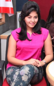 Anjali Sexy Photos At BIG FM 92.7 For Masala Movie Promotion 2