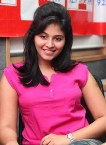 Anjali Sexy Photos At BIG FM 92.7 For Masala Movie Promotion 3