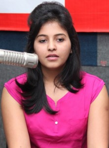 Anjali Sexy Photos At BIG FM 92.7 For Masala Movie Promotion 5