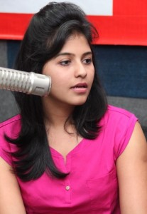 Anjali Sexy Photos At BIG FM 92.7 For Masala Movie Promotion 8