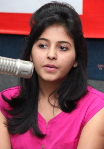 Anjali Sexy Photos At BIG FM 92.7 For Masala Movie Promotion 9