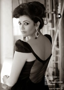 Kajal Agarwal Hot Photoshoot For Southscope Magazine October 2013