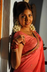 Komal Jha Latest Hot Photos Gallery in Saree 4