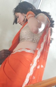 Lakshmi Rai Hot Navel Show Photos in Kanchana Movie 5