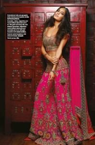 Lisa Haydon Sexy Photoshoot For Noblesse Magazine November 2013 (2)