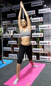 Nargis Fakhri Hot Sexy Yoga Photos Gallery