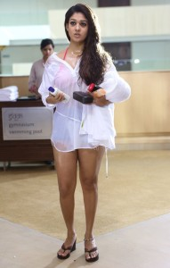 Nayanthara Hot Photos in Arrambam Movie 1