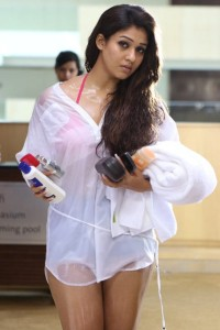 Nayanthara Hot Photos in Arrambam Movie 15