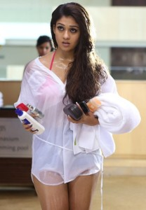 Nayanthara Hot Photos in Arrambam Movie 20