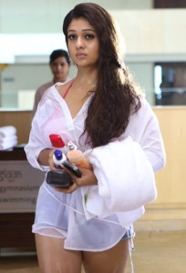Nayanthara Hot Photos in Arrambam Movie 21