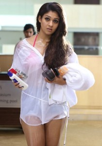 Nayanthara Hot Photos in Arrambam Movie 24