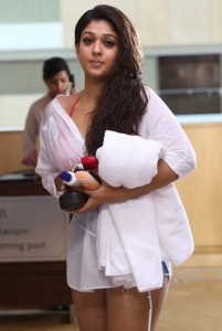 Nayanthara Hot Photos in Arrambam Movie 25