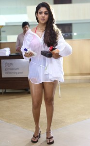 Nayanthara Hot Photos in Arrambam Movie 3
