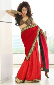 Poonam Jhawer Hot Photoshoot Photos in Saree