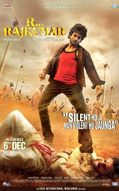 R Rajkumar Movie First Look Posters, Wallpapers 2