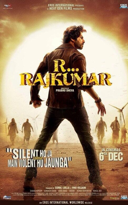 R Rajkumar Movie First Look Posters, Wallpapers 3