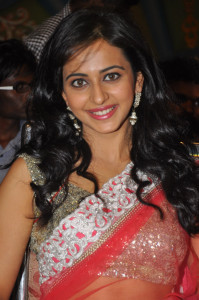 Rakul Preet Singh Hot Photos At Venkatadri Express Movie Audio Launch 10