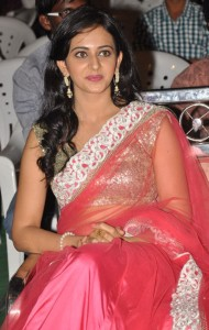 Rakul Preet Singh Hot Pics At Venkatadri Express Movie Audio Launch