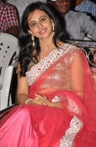 Rakul Preet Singh Hot Images At Venkatadri Express Movie Audio Launch