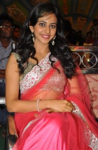 Rakul Preet Singh Sexy Photos At Venkatadri Express Movie Audio Launch