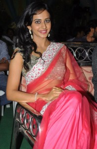 Rakul Preet Singh Sexy Images At Venkatadri Express Movie Audio Launch
