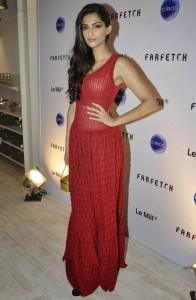 Sonam Kapoor Sexy Photos At Farfetch Le Mill Store Launch