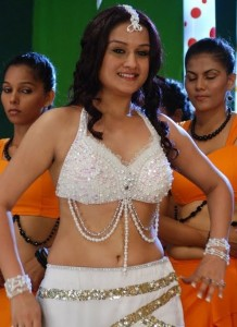 Sonia Agarwal Hot Navel Photos in Oru Nadigaiyin Vakkumoolam Movie 2