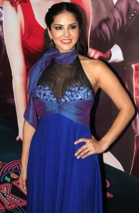 Sunny Leone Hot Stills At Jackpot Movie Trailer Launch