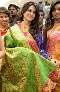 Kriti Kharbanda Kalamandir Showroom Launch Pictures 3