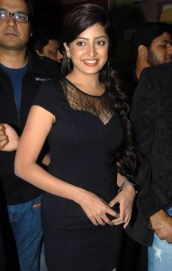 Poonam Kaur Hot Spicy Photos in Black Dress 1