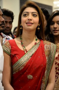 Pranitha Kalamandir Showroom Launch Photos 1