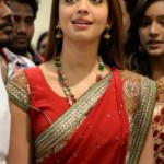 Pranitha Kalamandir Showroom Launch Photos