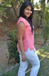 Anjali Cute Photos At Settai Movie Press Meet 4