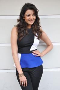 Kajal Agarwal Latest Photos At Yevadu Movie Interview 6
