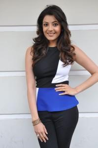 Kajal Agarwal Latest Photos At Yevadu Movie Interview 8