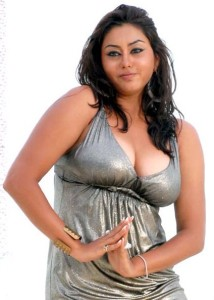 Namitha Hot Spicy Cleavage Show Images 1